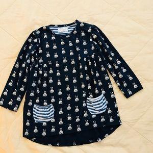 Other - Navy blue bunny dress.